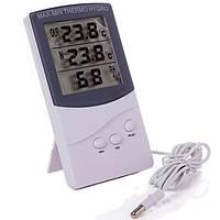Та-328 высокого качества цифровой ЖК-измеритель влажности в помещении наружный термометр гигрометр температуры