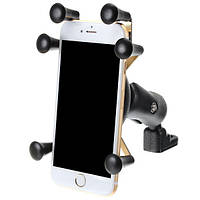 6.0 дюймов Телефон GPS Держатель Анти Кража для мотоцикл Скутер-велосипед Зеркало заднего вида