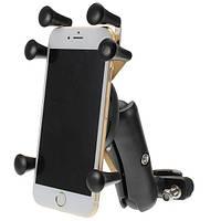 4.0-6.0 дюймов Телефон GPS Держатель Анти Кража для мотоцикл Скутер-велосипед Руль