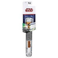"""SW Раздвижной Световой Меч вселенной """"Звёздные Войны"""" Эпизод 8 -  Luke Skywalker Green, C1286\C1289"""