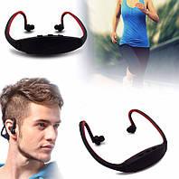 Наушники Sport MP3 плеер + радио FМ. Наушники для тренировок. Разные цвета.
