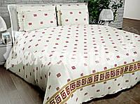 Комплект постельного белья  семейный версаче
