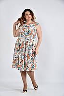 Платье 0497-1 цветное