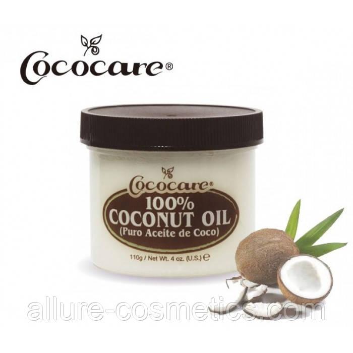 Кокосове масло Cococare 100% coconut oil 110гр