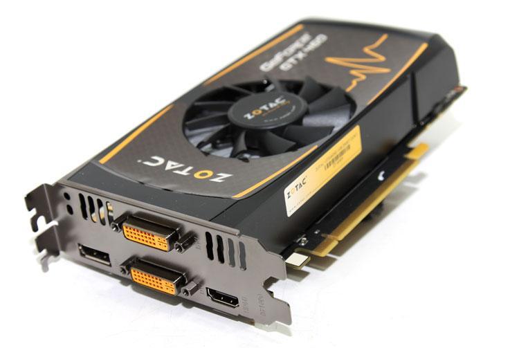 Zotac PCI-Ex GeForce GTX 460 SE 1024MB GDDR5 (256bit) (680/3400) (2x DVI-I, HDMI, DisplayPort) (ZT-40409-10P)