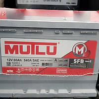 Аккумулятор Mutlu 60A 600A R+