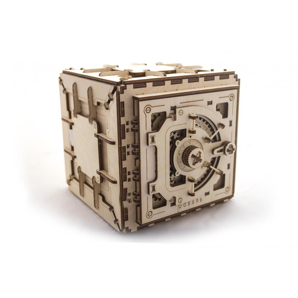 Механический 3D пазл «Сейф», Укр-гирс, 179 деталей