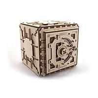 Механический 3D пазл «Сейф», Укр-гирс, 179 деталей, фото 1