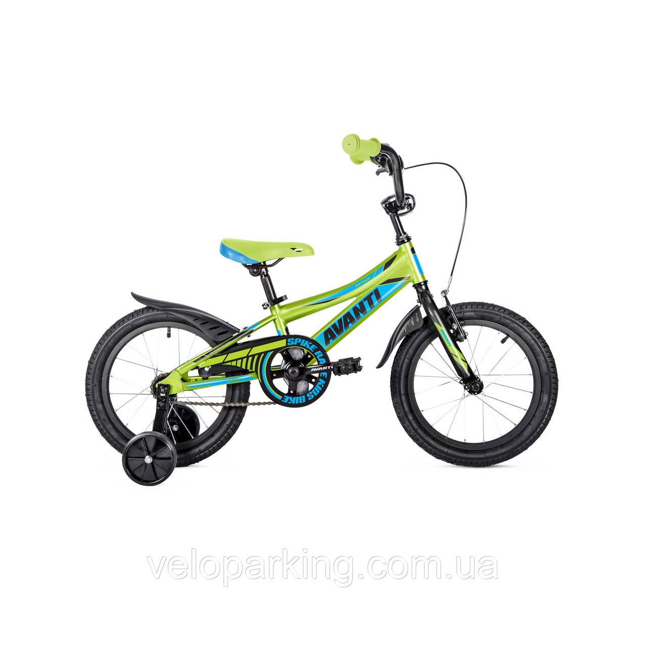 Детский двухколесный велосипед Avanti Spike 16 new (2018)