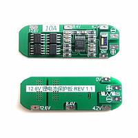 11.1v 12v 12.6V 18650 липо батареи 10A защиты и управления для 3S IC защита Сейко