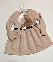 Нарядное платье для девочек 92-128 см