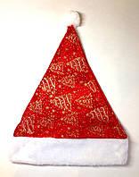 Новогодняя шапка из исскуственного меха, йолочки