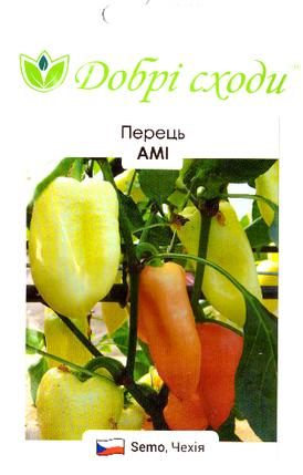 Семена переца Ами 0,1г ТМ ДОБРІ СХОДИ, фото 2