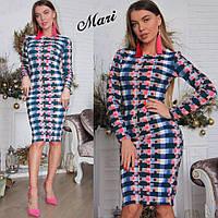 Стильное платье с кукурузы приятное к телу и практичное МС-12.043