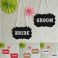 Овсянка баннер Гирлянда романтической моды свадебной церемонии декор комнаты фото реквизита