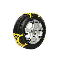 6шт 165-265 мм шина противоскольжения снег ремень установлен снег лопатой рабочие перчатки для автомобиля сув грузовик
