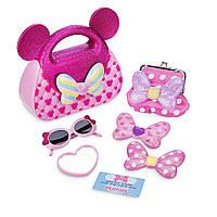Игровой набор сумочка с аксессуарами Минни Маус Minnie Mouse Popstar Disney