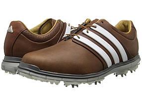 Кроссовки/Кеды (Оригинал) adidas Golf Pure 360 LTD Tan Brown/Tour White/Silver Metallic