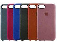 Чехол для iPhone 8 - Alcantare cover, разные цвета
