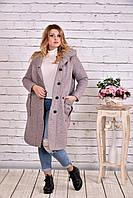 Светлое шерстяное пальто | t0642-3