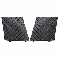 2pcs передний бампер нижняя сетка решетки облицовку крышки влево и вправо BMW e60 e61m