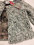 Меховое болеро для девочек 128-134 см, фото 2