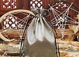 Чехол для карт таро, мешочек из сатина Оранжевый,14х20 см, фото 2