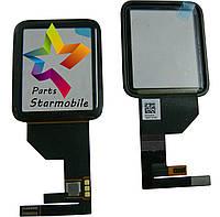Сенсорный экран и стекло Apple Watch 1-го поколения 42 мм - черный - оригинал