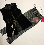 Нарядные штаны для девочек 134-140 см, фото 3
