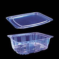 Упаковка для салатов 2243 с крышкой 2242 /350мл/100шт