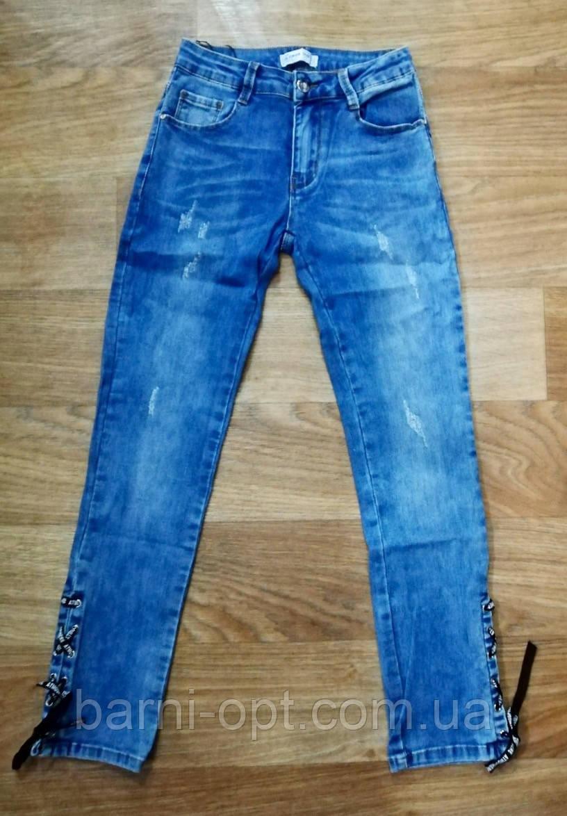 Джинсовые брюки для девочек оптом, Lemon tree , 8, рр.