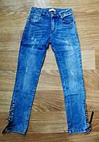 Джинсовые брюки для девочек оптом, Lemon tree , 8, рр., фото 1