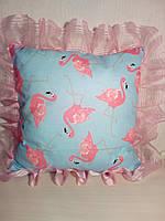 Эксклюзивная подушка для малышей40*40с красивым ангелочком 😇