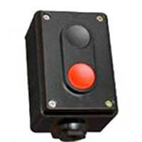 Пост кнопочный ПК722-2, 10A, 230/400B, (корпус карболит, 1 красная, 1 черная), Electro