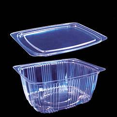 Упаковка для салатов кулинарии  2244 с крышкой 2242/500мл/ 250 шт.