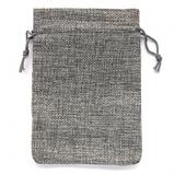 Чехол для карт таро, мешочек из джута 7х10 см. Салатовый, фото 2