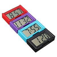 4 цвета автомобильный цифровой автомобиль LCD часы самоклеящаяся наклеить на время портативный