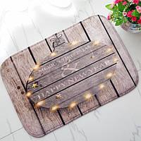 40x60см рождества фланель пены бархата памяти ковер впитывающий коврик ванной мягкий нескользящей напольного покрытия