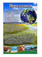 Плакат по Географии Планета Земля
