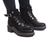 Женские ботинки Thibeaux на шнуровке, молние и ремешке