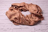 Хит сезона! Пудровые тона люрексовый палантин-шаль  Louis Vuitton песочный вышит золотой нитью