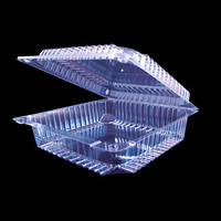 Пластиковая упаковка для торта наполеона или других кондитерских изделий  2255/ 50шт/ ПЕТ