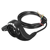 3 провода 7 / 8inch электрический контроль скорости движения автомобиля скутера ручка большого пальца дроссельной заслонки 22.2mm