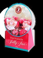 """Новогодний набор фруктового мармелада """"Jelly-feast"""" 90г"""