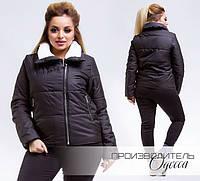 Короткая куртка батал ТМ Производитель Одесса недорого в интернет-магазине Украина ( р. 48-54 )