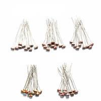 5 значений 10шт каждый фоторезистор светочувствительный резистор пакет общей сложности 5506/5516/5528/5537/5539 50pcs
