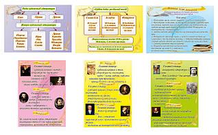 Картонные плакаты по Литературе