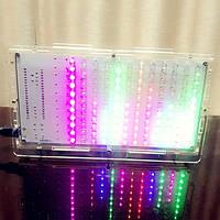 Поделки 5-цвет LED музыкальный спектр дисплей электронный комплект с футляром