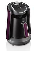 Кофемашина для турецкого кофе Arzum Okka Minio черная c фиолетовым, фото 1