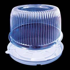 Пластиковая упаковка для торта на 0,75 кг 1181 ПЕТ